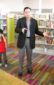 Rex Kare at Lochwood Library