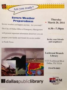 Severe Weather Prep.3.20.14